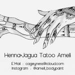【紹介】Henna×Jagua Tattoo Amellさん